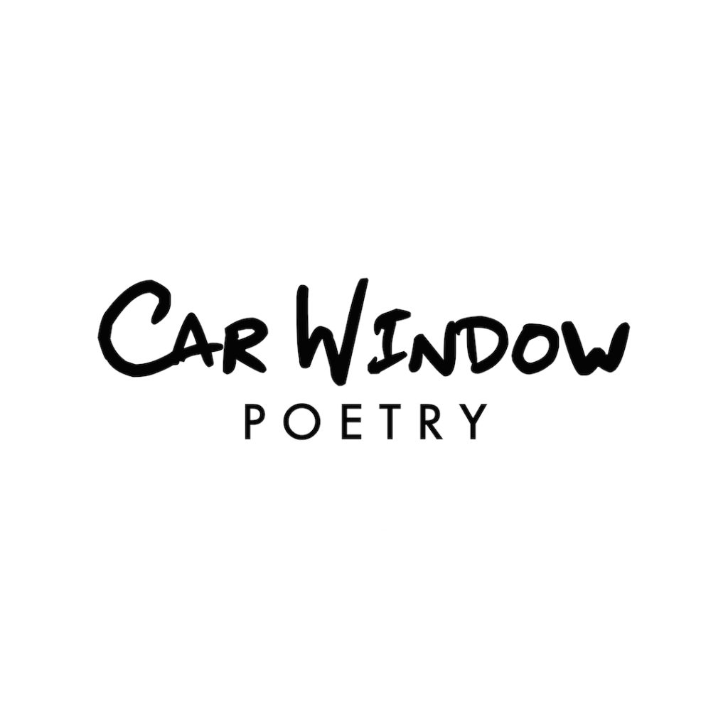 "A logo reading ""car window poetry"""