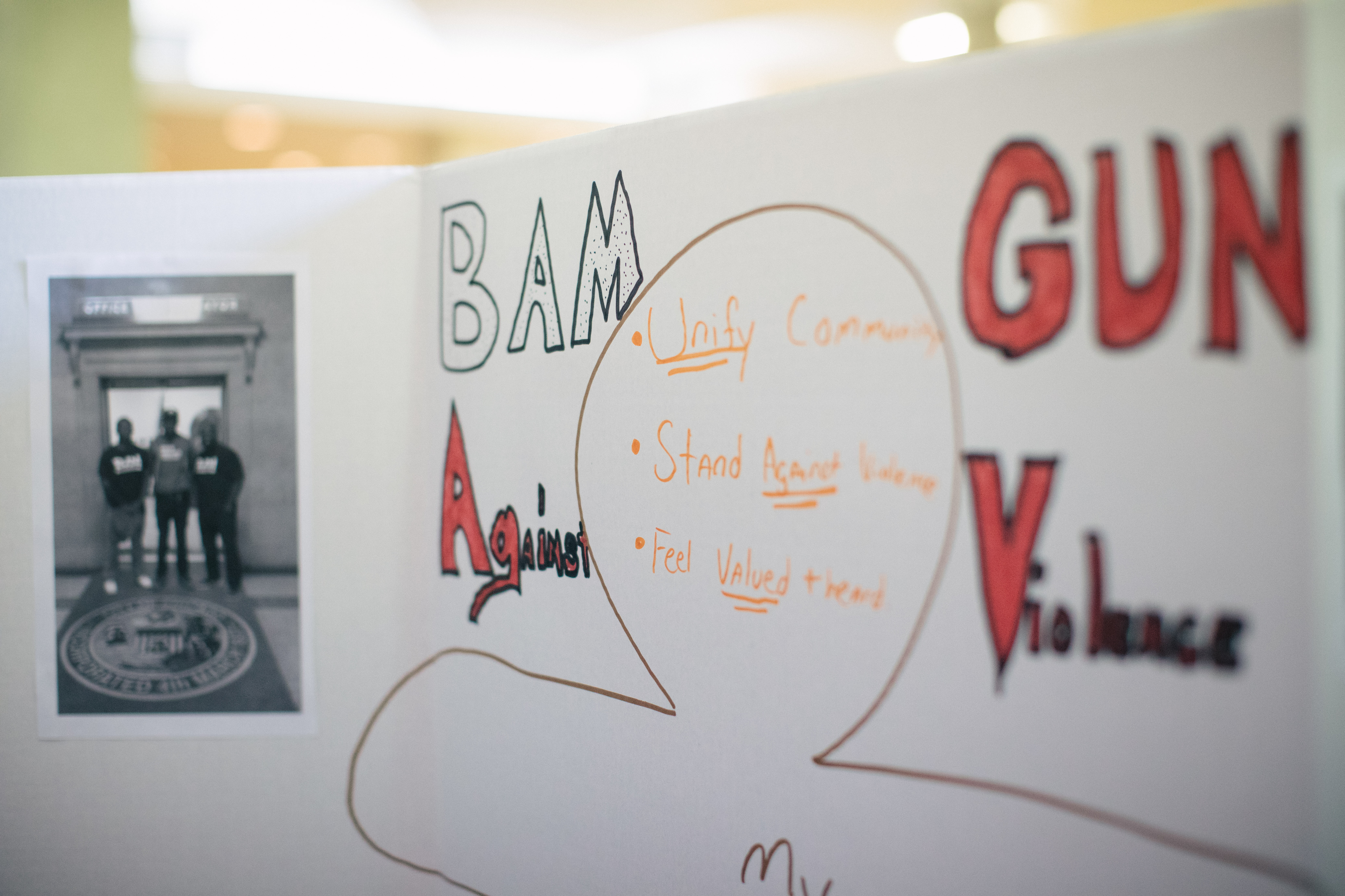BAM Against Violence - a Chicago project to end gun violence