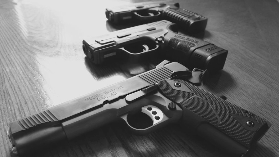 Guns - PHOTO CREDIT: Emily Fennick / EyeEm/Getty Images/EyeEm via NPR