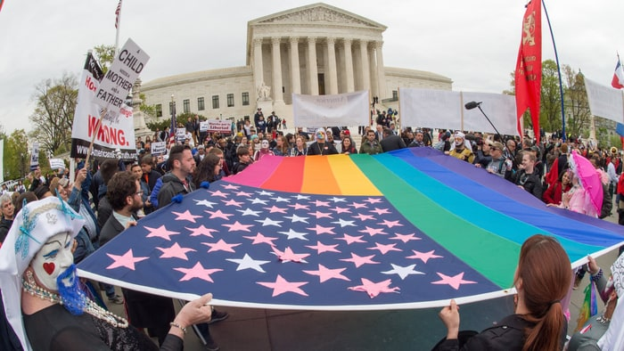 Supreme Court ruling against gay rights