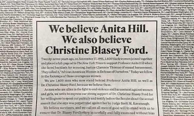 We believe in Christine Ford