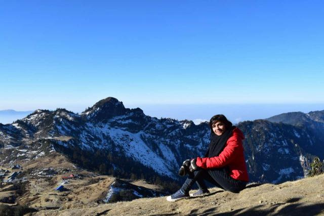 Hiking to 'kalinchowk' of Dolakha district having altittue of 3842m from sea level