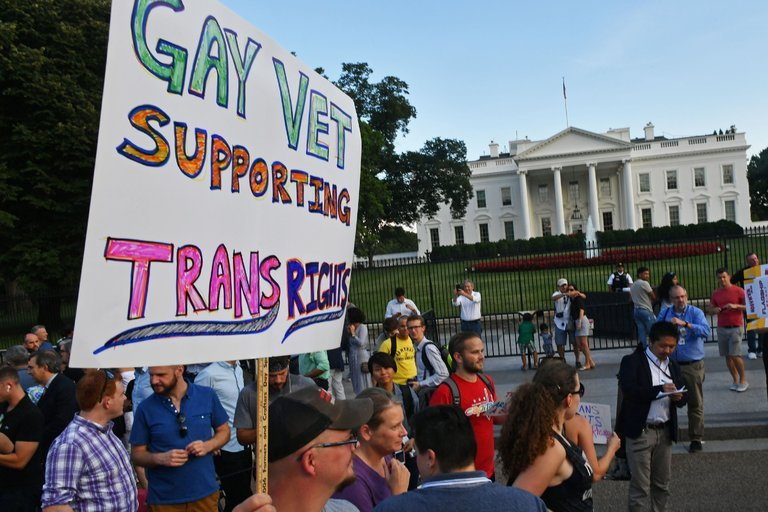 Protests for transgender rights in DC