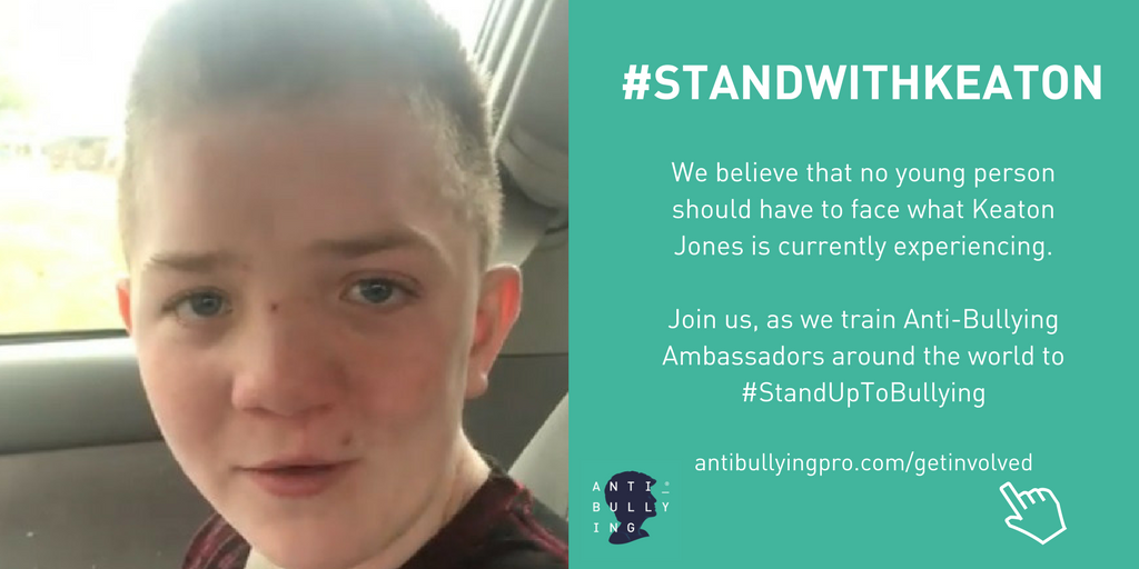 Stand with Keaton - Anti-bullying