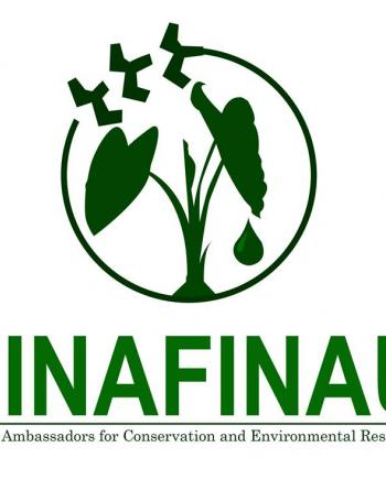 The logo is a visual representation of our Finafinau group to preserve our natural resources and protect our environment.