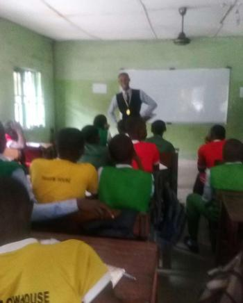 This is how the first sensitization campaign in GREENFIELD ACADEMY