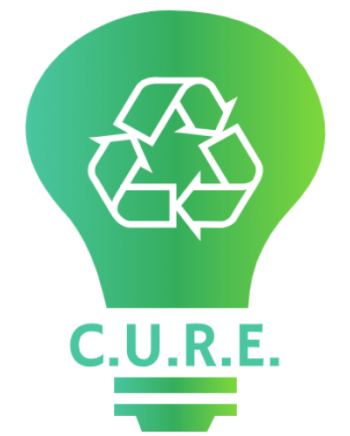 Logo for Community United for Renewable Energy (CURE)